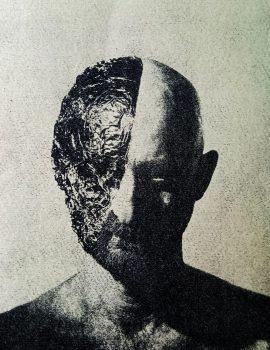 self portrait with tinfoil havadi gumoil print